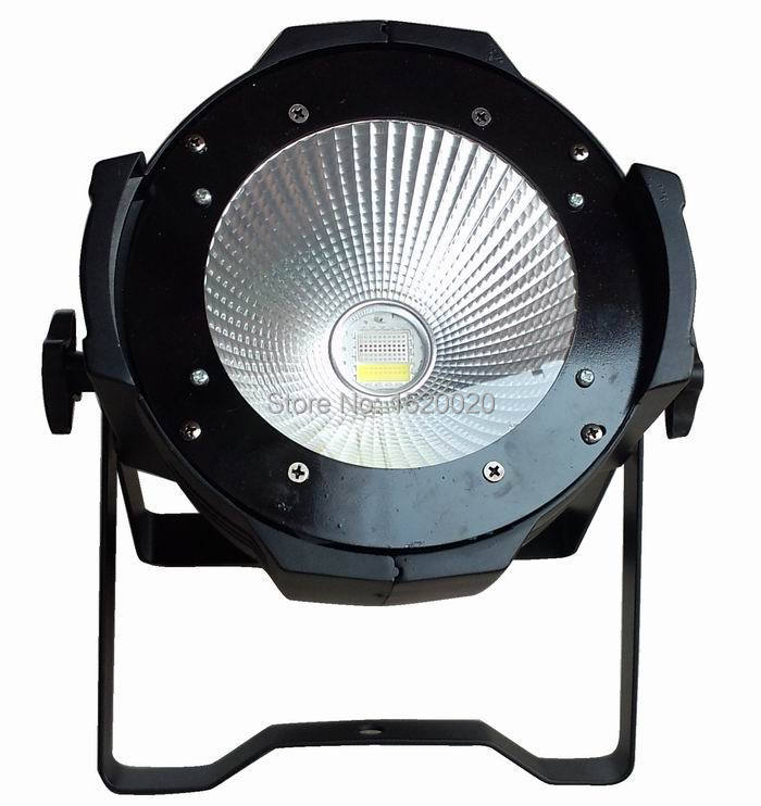 4pcs/LOT COB LED PAR 100W Light RGBW DMX 512 Control Led COB Dj Par Light Club Disco Stage Wash Lighting