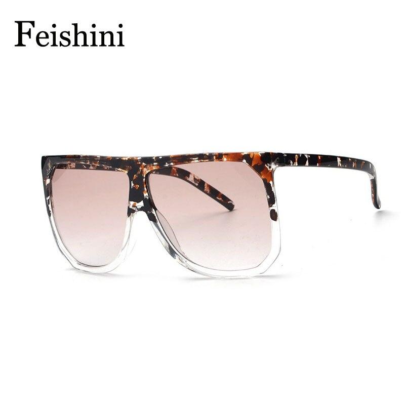 ᗕFEISHINI diseñador tienda contadores gran marco Gafas Sol mujer ...