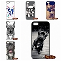 whimsical colorful french bulldog Case Cover For iPhone SE 4 4S 5S 5 5C 6 6S Plus Samsung Galaxy S2 S3 S4 S5 MINI S6 S7 Edge