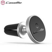 CaseMe Phổ Magnetic Điện Thoại Xe Hơi Chủ Cho iPhone 8 7 Không Khí Vent Núi Car GPS Điện Thoại Khung Đứng Chủ Đối Với Samsung Xiaomi