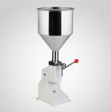 Food filling machine Manual hand pressure stainless paste dispensing liquid packaging equipment sold cream machine 1 ~ 50ml(China)