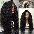 8A 250 Density Lace Front Wigs For Black Women 13x6in Brazilian Curly Lace Front Human Hair Wigs With Baby Hair Natural Hailine