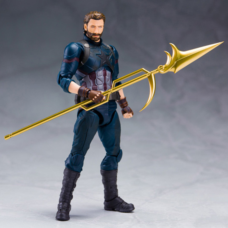 Avengers 3 Reunion Infinite War SHF Captain America movable PVC Collect Boys Figure 7 Inch