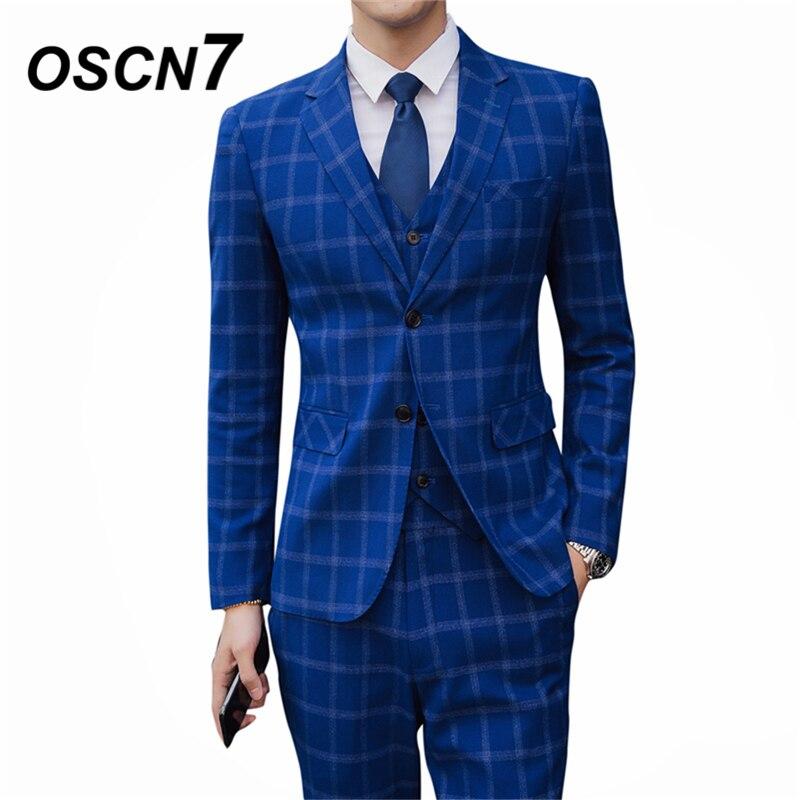 oothandel blue checked suit Gallerij Koop Goedkope blue