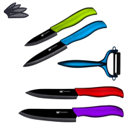 Ceramic Knives Fruti Utility Slicing Chef Knife Peeler Kitchen Knives XYJ Brand Cooking Knives Five Piece
