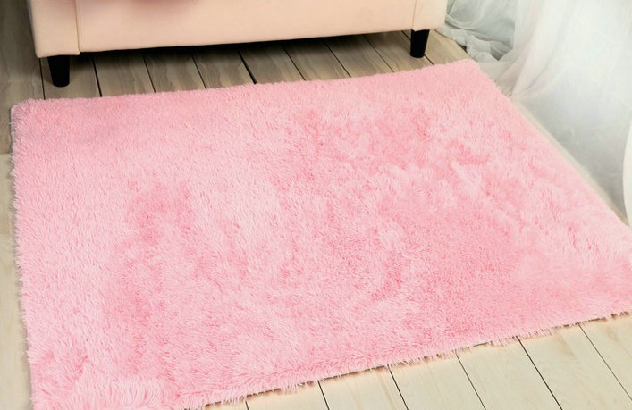 Free Shipping 60 120cm Pink Carpets Area Rugs For Living Room Soft Child Rug Home Decor Carpet Bedroom Baby In From Garden On