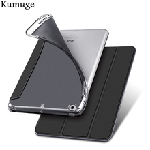 Case for iPad Mini 1/2/3 TPU Silicone Back Cover +PU Leather Ultra Slim Tablet Smart Cover for iPad Mini 4 Funda Coque Case new three folding tablet case for ipad mini 1 mini 2 ultra thin dormancy tablet holster pu leather cover for apple ipad mini 3