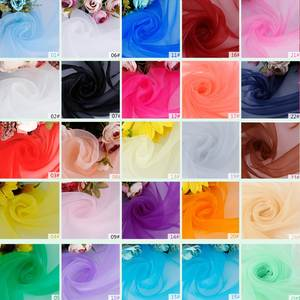 decoration fabric Wedding home Party Organza for Romantic