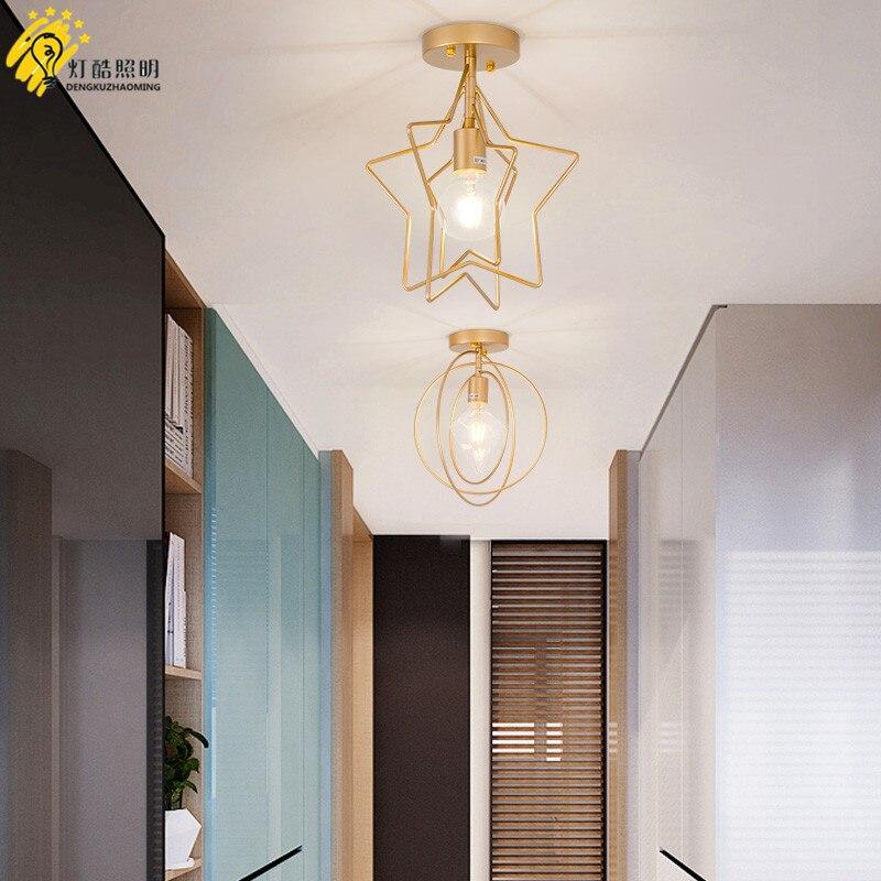 Nordic corridor hallway light minimalist modern star hall, entrance lamp, cloakroom balcony, ceiling lampNordic corridor hallway light minimalist modern star hall, entrance lamp, cloakroom balcony, ceiling lamp