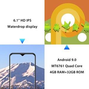 Image 5 - LEAGOO M13  Android 9.0 Smartphone 6.1 HD  IPS Waterdrop Display 4GB RAM 32GB ROM MT6761 3000mAh Dual Cams 4G Mobile Phone