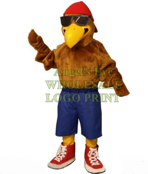 Details about  /Halloween Hawk Mascot Costume Falcon Eagle  Anime Kit Theme Dress Carnival