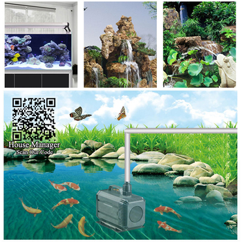 Amphibious Pond Pump - Water Fountain Circulation System  6