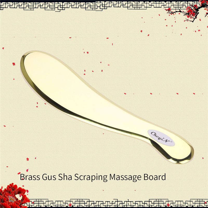 Medical Grade Copper Gua Sha Guasha Scrapers Acupuncture Massage Stainless Steel Metal Plate Body Massager Therapy ToolMedical Grade Copper Gua Sha Guasha Scrapers Acupuncture Massage Stainless Steel Metal Plate Body Massager Therapy Tool