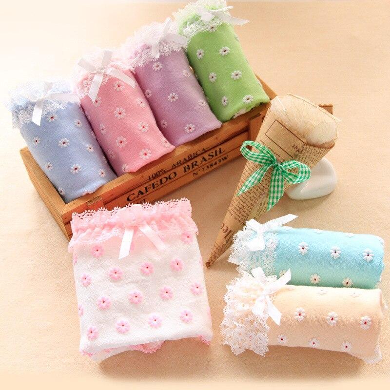 100 Pcs/lot Für 9-20 T Junge Mädchen Unterwäsche Süßigkeiten Student Briefs Damen Mädchen Höschen Kinder Baumwolle Briefs