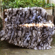 CX-D-127 Customized New 2017 Decorative Blanket Fashion Rabbit Fur Rugs For Living  Room~ DROP SHIPPING c7d4aa996