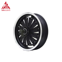 14*3.5inch 1500W 30H 48V to 72V V1.12 BLDC Moped In Wheel Hub Motor for electric motorcycle