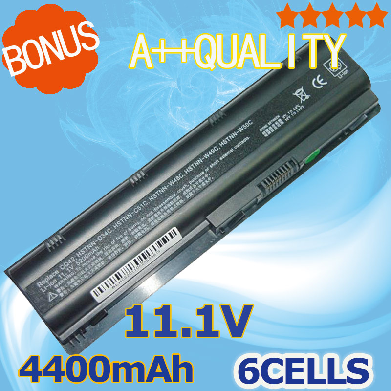 4400mAh 6 cells laptop battery For HP MU06 MU06XL G4 G6 G7 G32 G42 G56 G62 G72 CQ32 CQ42 CQ43 CQ62 CQ56 CQ72 DM4 593553-001 набор стикеров на папки контрагенты 6 шт 0103015