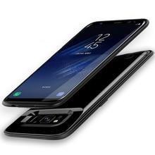 Для Samsung Galaxy S8/S8plus чехол Крышка батарейного отсека чехол 5200 мАч ультра тонкий внешний портативный резервный быстрый power bank зарядное устройство чехол