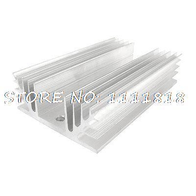 цена на New Aluminum Heatsink for Rectangle Single Phase SSR Solid State Relay