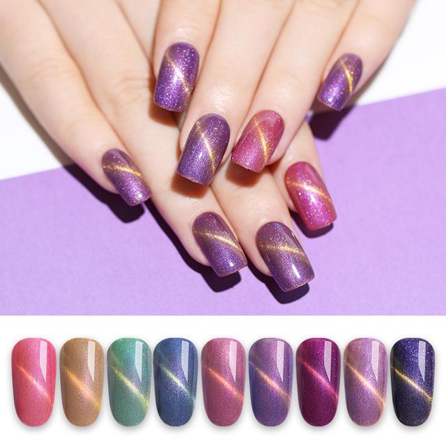 LILYCUTE 5ml Colorful Glitter Shimmer Gel