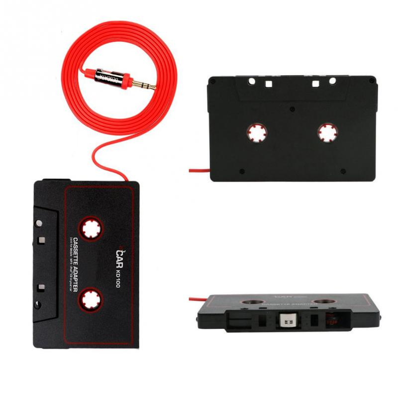 High Quality Audio Car Cassette Tape Adapter Converter 3.5 MM For Phone MP3 AUX CD