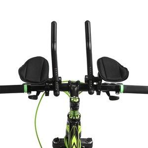 Image 2 - Fietsen Bike Rest Stuur Aero Bar Fiets Ontspanning Handvat Bar Triathlon Mtb Racefiets Arm Rest Bar Bike Aerobar