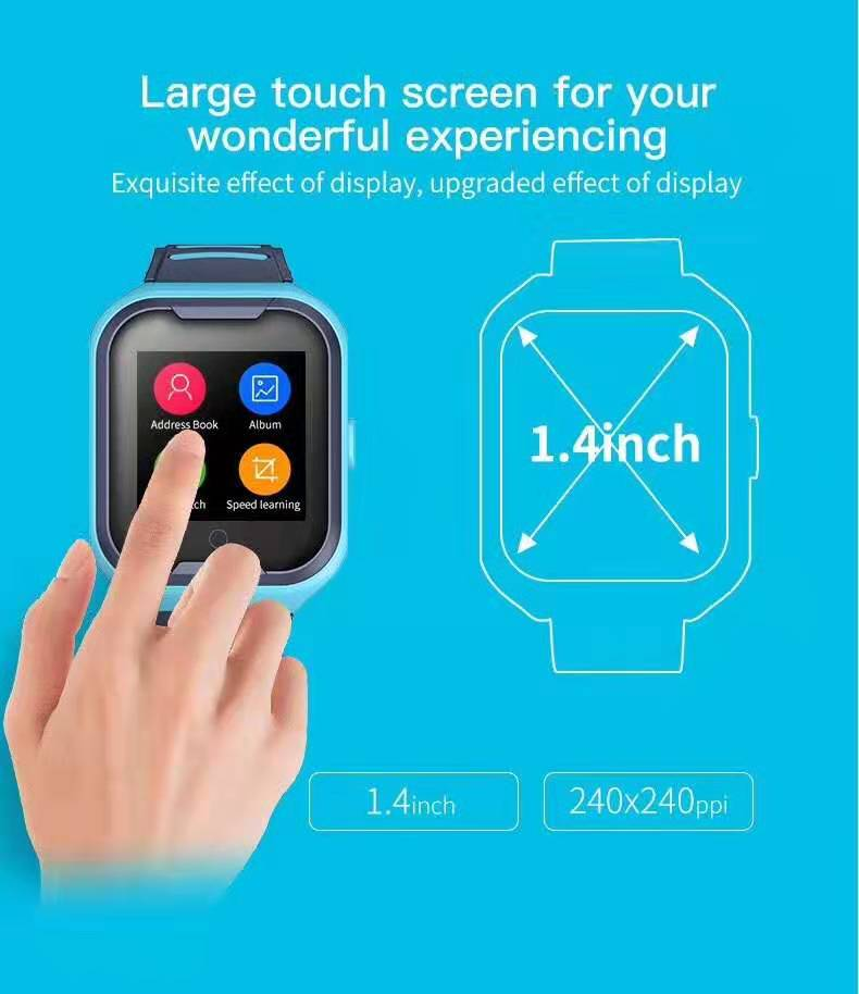 LEMFO G4H 4G Kids Smart Watch With GPS Wifi Ip67 Waterproofness 1.4 Inch Display And Camera 6