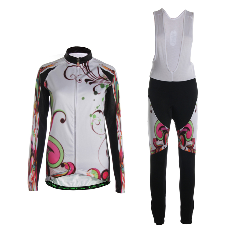 TVSSS Long Sleeve Cycling Jersey Sets Winter Thermal Fleece Cycling Bike Clothes font b Suit b