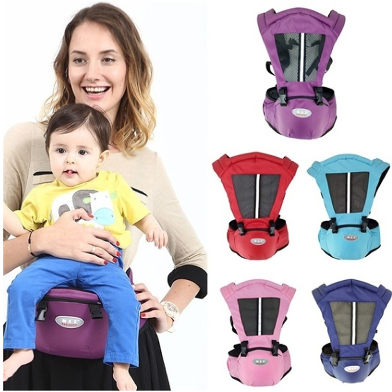 9ea410f3929 New Solid Newborn Baby Carrier Sling Wrap Backpack Front Back Chest  Ergonomic 5 Position Convenien Travel