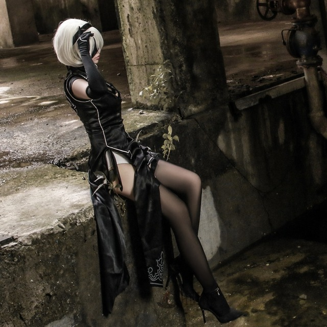 Anime girl in costume rides fat cock 6