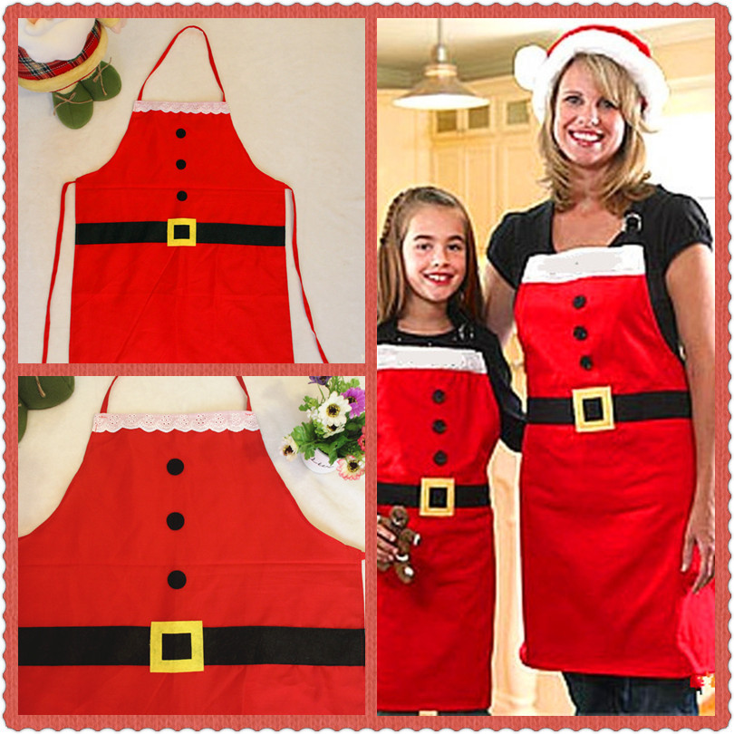 Hot Christmas decorations Christmas daily necessities Christmas apron Christmas family party supplies