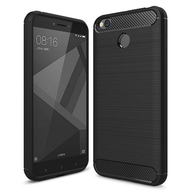 wholesale dealer 0da0a 345c9 US $3.99 20% OFF|Xiaomi Redmi 4X Case Fashion Soft Silicone Case For Xiaomi  Redmi 4X Case 4 x Protective Cover xiomi Redmi 4x 5.0