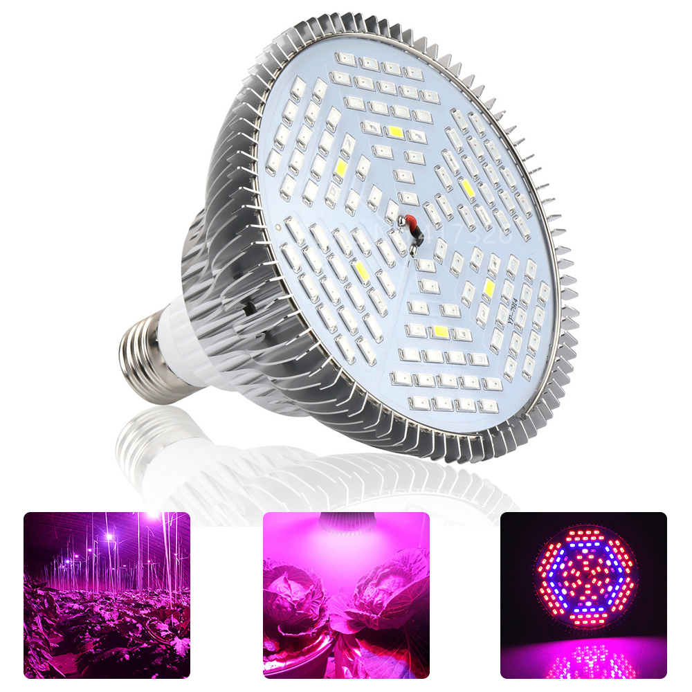 YWXLight 1PCS E27 LED Plant Grow Light 12W 24W Red Blue UV IR Phyto Lamp 90-265V LED Full Spectrum Lamp for Hydroponics Flowers 900w 1l fog machine remote wire control fogger smoke machine dj bar party show stage machine
