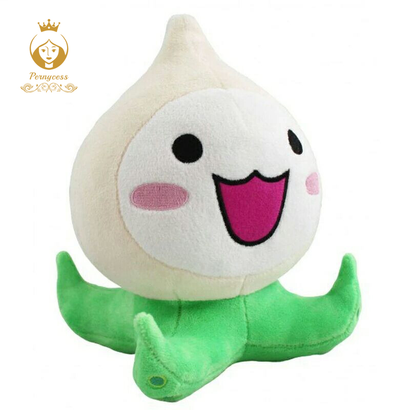 1PCS 20CM Over Game font b Watch b font Overwatches Game Plush Toys Onion Small Squid