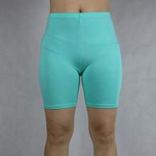 Sólido leggings curtos s 7xl algodão feminino novo curto feminino calças de seguro 6xl 5xl 4xl 3xl 2xl xl l