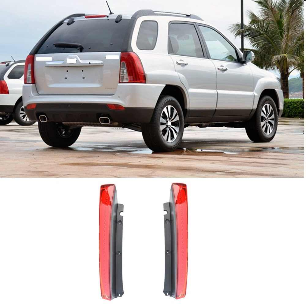 CAPQX For Kia Sportage 2.0T 2.0L  2013 2014 2015 Rear Bumper Taillight Tail lamp Brake Tail Lamp Parking Stop Light