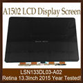 "10pcs/lot A1502 2015 Year For Apple Macbook Pro Retina Genuine New LCD Display LSN133DL03-A02 13.3"" Lcd Screen Panel 100% Tested"