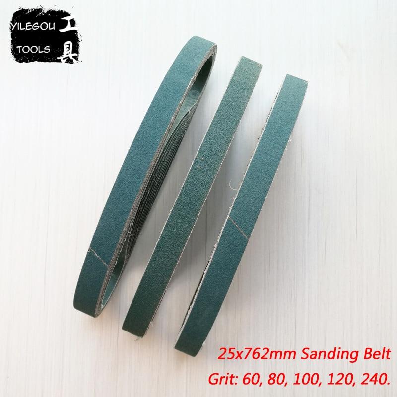 5 Pieces 25 * 762mm Sanding Belt Fused Zirconia Alumina 25*762mm Sanding Screen 1