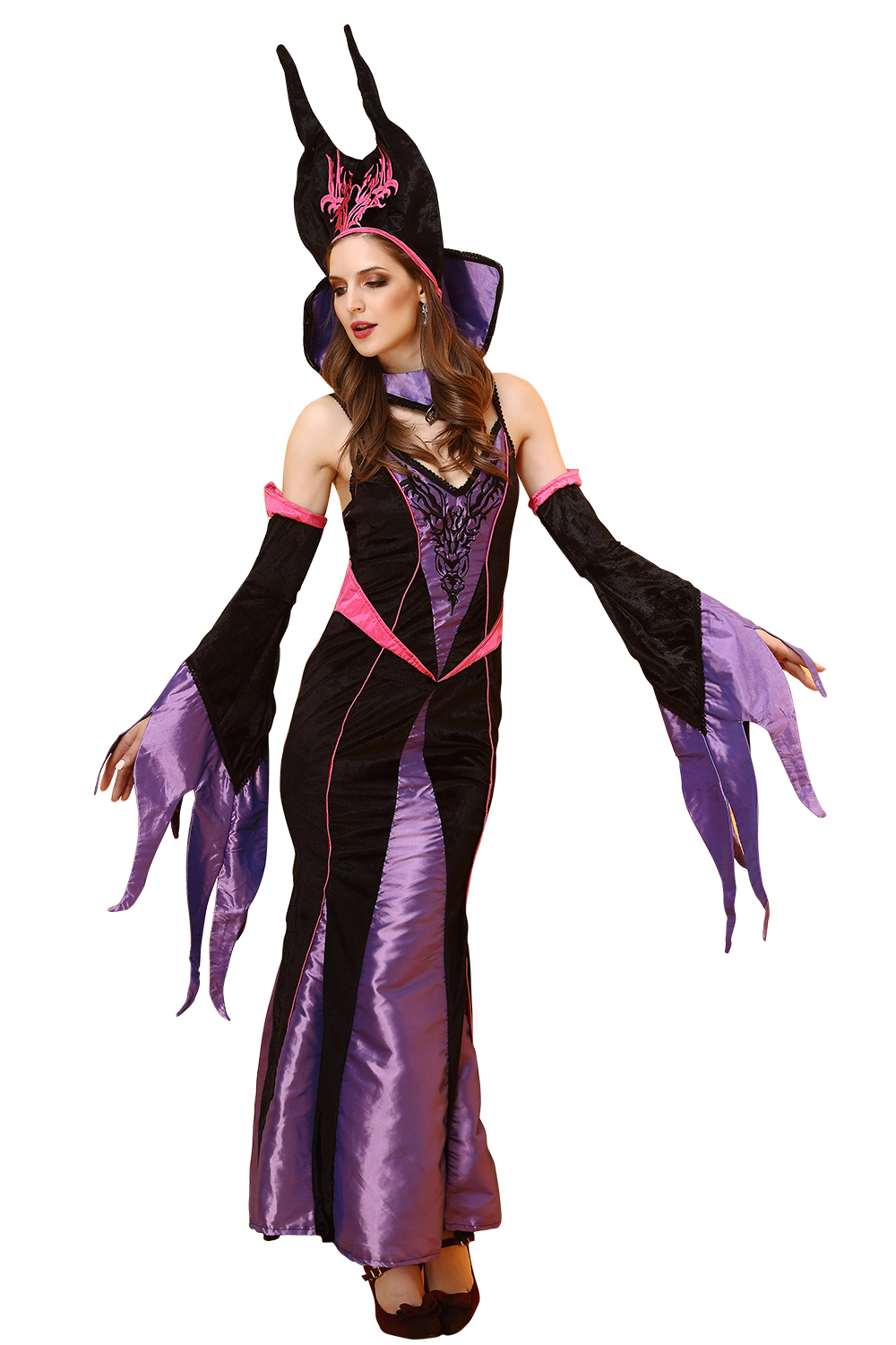 Popular Halloween Witch Costume Adult-Buy Cheap Halloween Witch ...