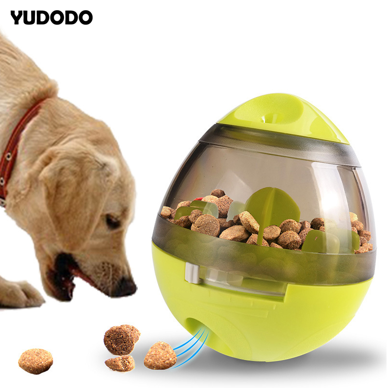 Funny Cat Toys Food Leaking Balls Slow Feed Dispenser Pet IQ Treat Interactive Toy For Dogs Cats Playing Training