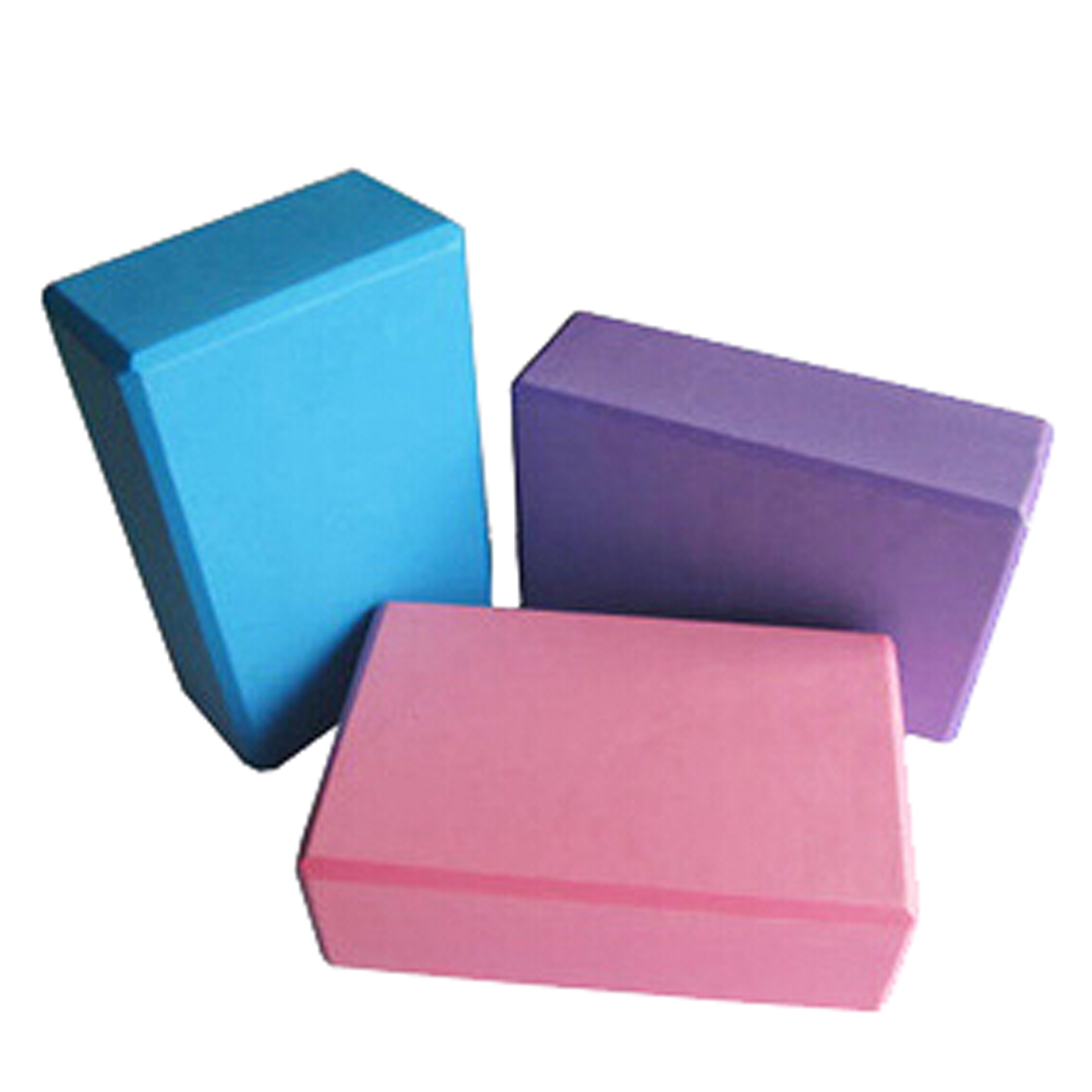International 9*6*3 Inch Eco-friendly Eva Foam Yoga Block Relief Muscle Body Stretch Yoga Pilates Exercise Brick Sale B