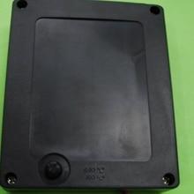 Черный Водонепроницаемый 4AA Батарея держатель 6v Батарея packcable торцевыми крышками 79X65X19 мм