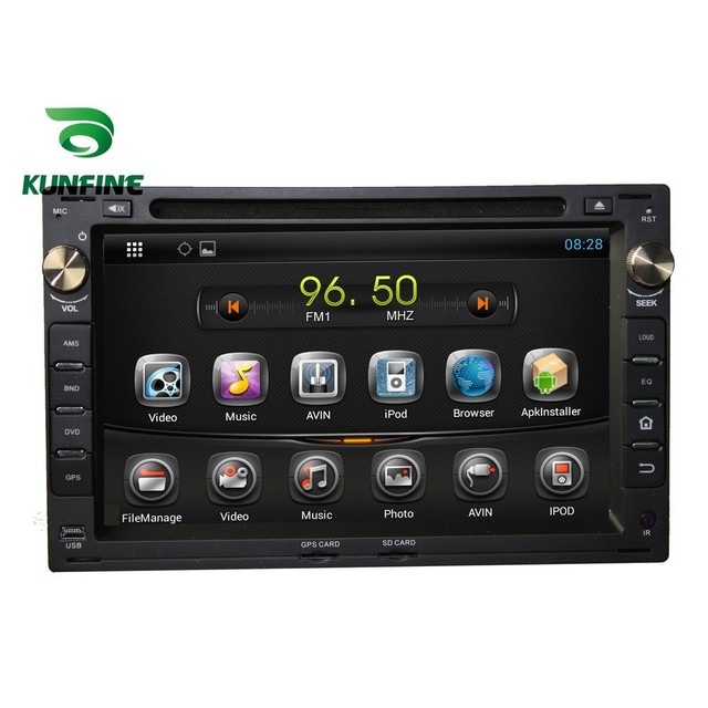Quad Core 1024*600 Android 5.1 Car DVD Player de Navegação GPS Som Do Carro para Volkswagen PASSAT B51999-2005 Rádio 3 3gwifi Bluetooth