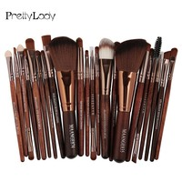 FOCALLURE Professional 22pcs Makeup Brushes Cosmetic Set Powder Foundation Blush Eyeshadow Eyeliner Beauty Make Up Brush