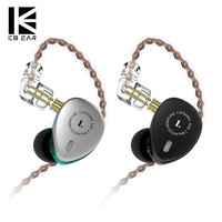 KBEAR KB06 2BA+1DD Hybrid Drivers In Ear Earphone HIFI DJ Monitor Earphone Earbuds With 2PIN Cable Metal Earbud KBEAR F1/KB10