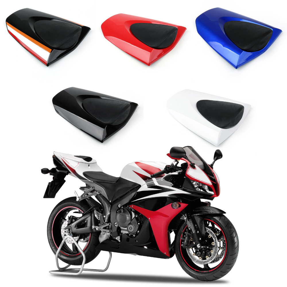 Areyourshop Motorcycle ABS Plastic PassengerRear-Seat-Cover-cowl-For-Honda-CBR600RR-CBR-600-RR-2007-2012 New Arrival Styling