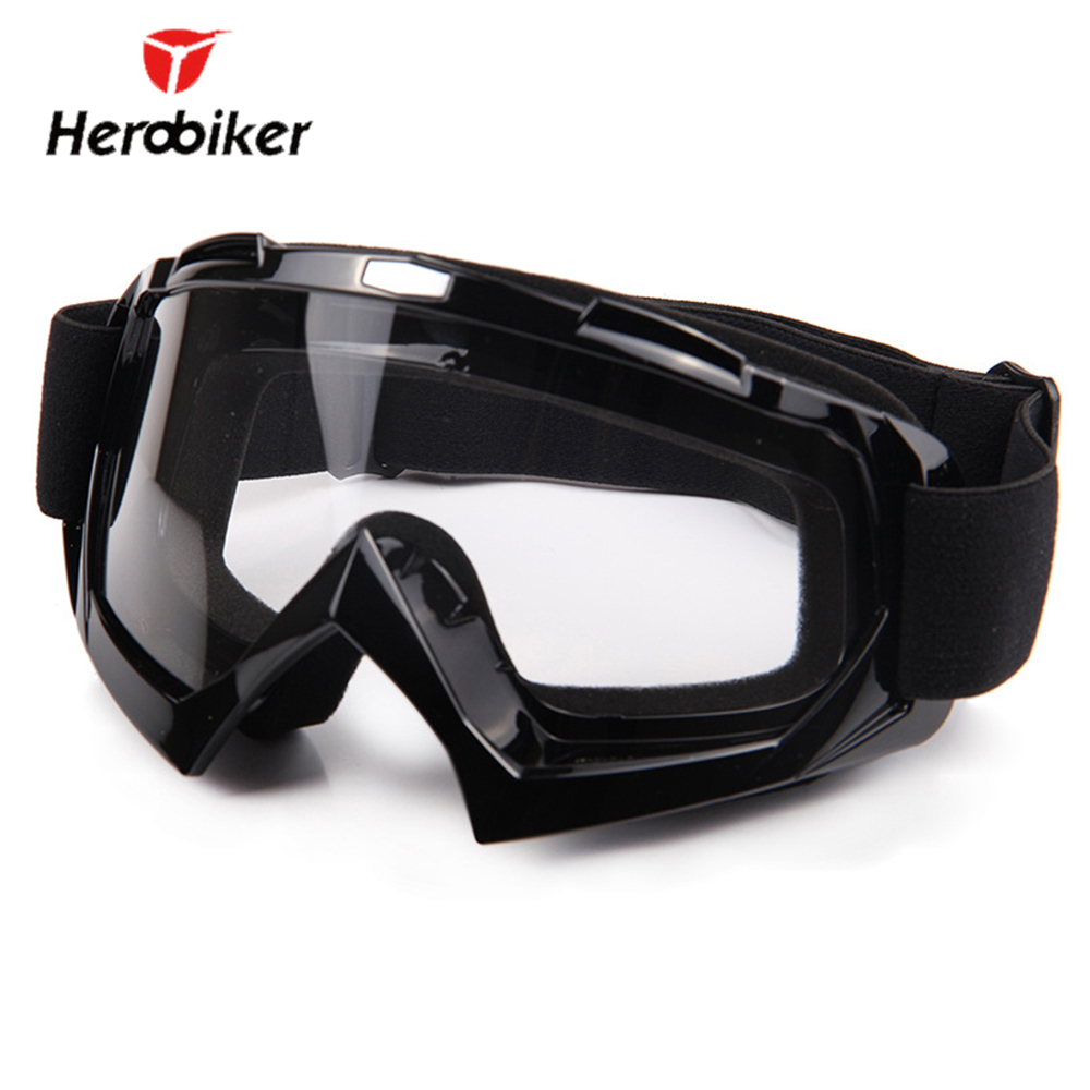 HEROBIKER Ski Snowboard Glasses UV Protection Motorcycle Riding Goggles Motocross Off Road Dirt Bike Downhill Racing