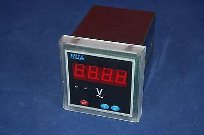 1PC Digital voltage Panel Meter AC 72X72 Voltmeter LED Display 3 1/2 digits 600V