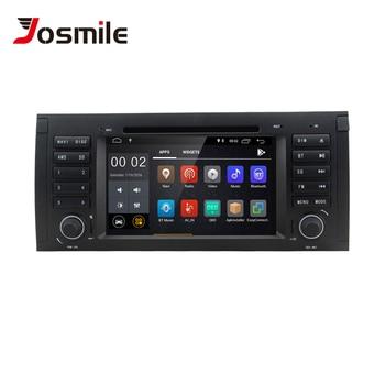 Josmie 1 Din Android 8.1 GPS Radio Car DVD Player For BMW E39 BMW X5 E53 M5 Multimeida Navigation Audio Stereo Head Unit  Screen