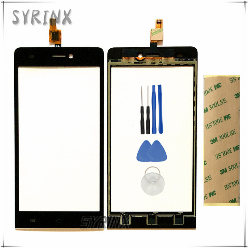 Syrinx With Tape Tools Touchscreen Sensor For Explay indigo Capacitive Touch Screen Digitizer Front Glass Lens Panel Replacement